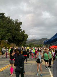Waiting for the start in Ojai