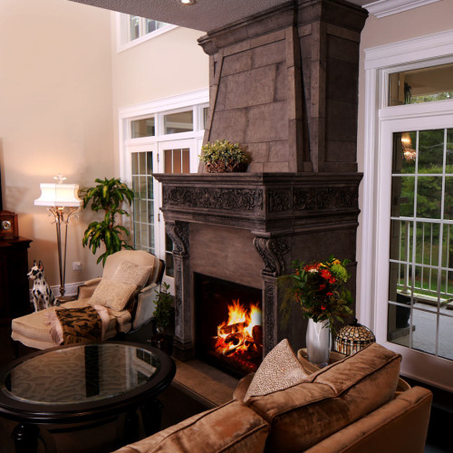 Mantel Design 16 mile (Trumeau Stones)