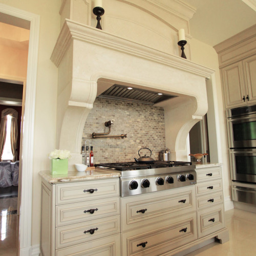 Kitchen hood_7 (Trumeau Stones)