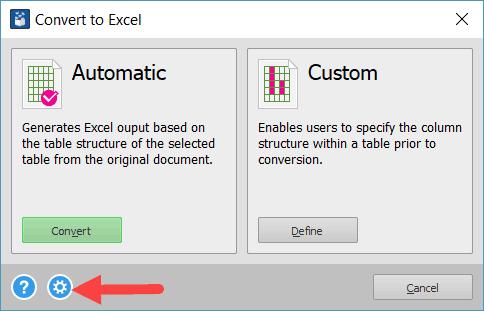 Extrae todas las tablas de PDF a Excel