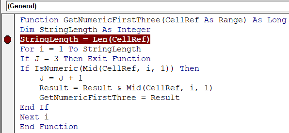 Creating A User Defined Function Udf In Excel Vba