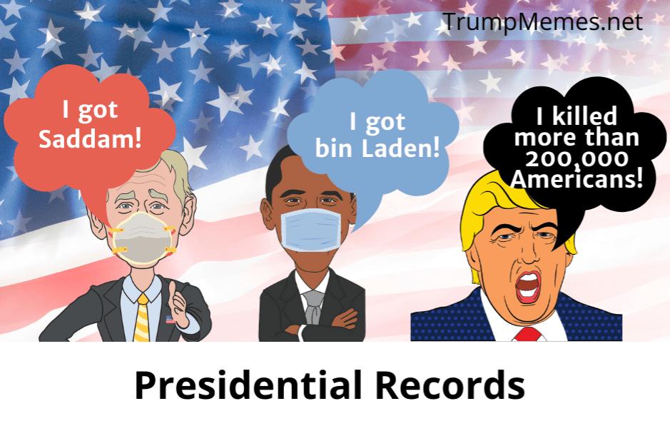 Bush, Obama, and Trump