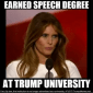Melania Trump can insult the Barack Obama in five languages!