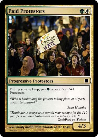 paid-protestors