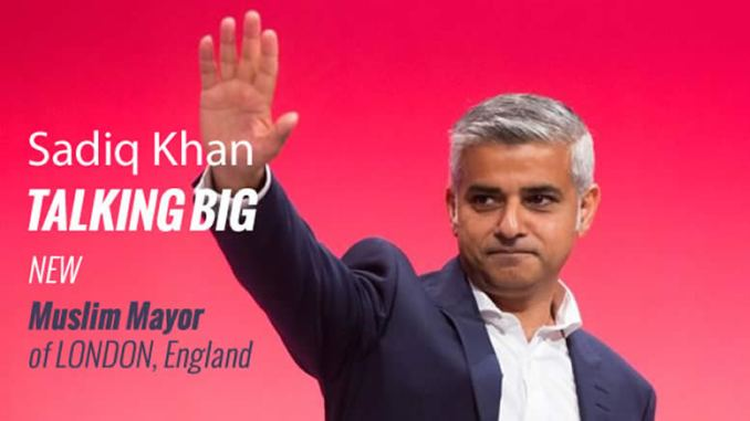 Muslim mayor of London