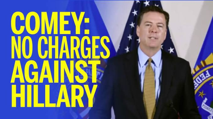 Comey questioned