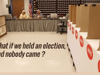 election and nobody came