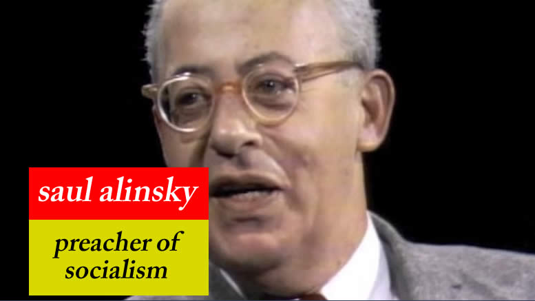 "Saul Alinsky Dead since the 70s - See ""Rules For Radicals""."