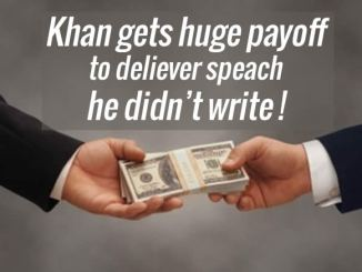 Mr Khan Bribed