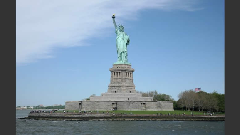 Never forget Lady Liberty and the effects of Terror