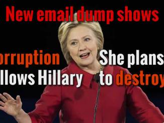 Hillary breeds Corruption