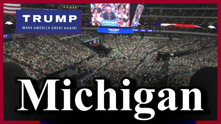 Michigan Trump rally