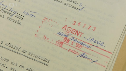 A document from the Czechoslovac state's intelligence service