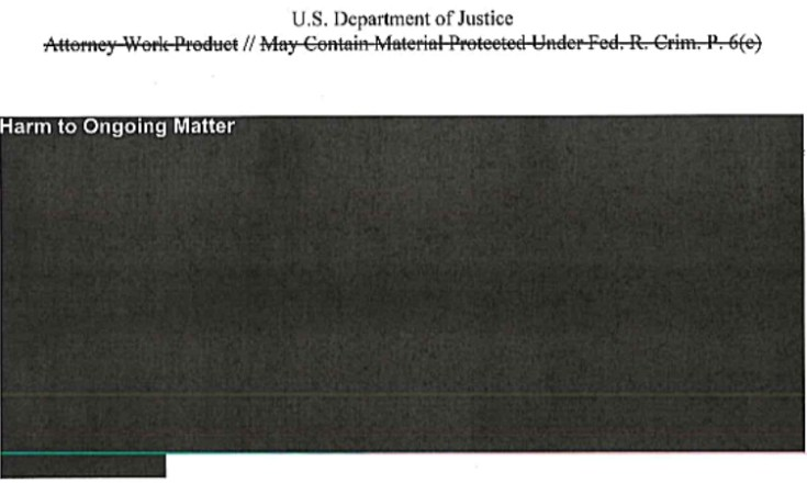 Redacted! Page 177 of Mueller's report