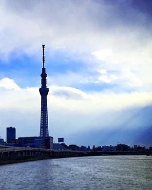 SKYTREE & Sumida Riv.