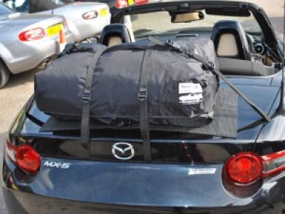 Miata Luggage Rack boot-bag original on ND MX5 Miata