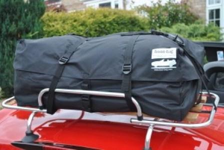 car luggage rack bag bootbag