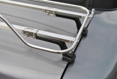 car luggage rack close