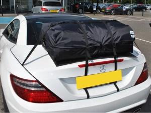 bootbag vacation car luggage rack
