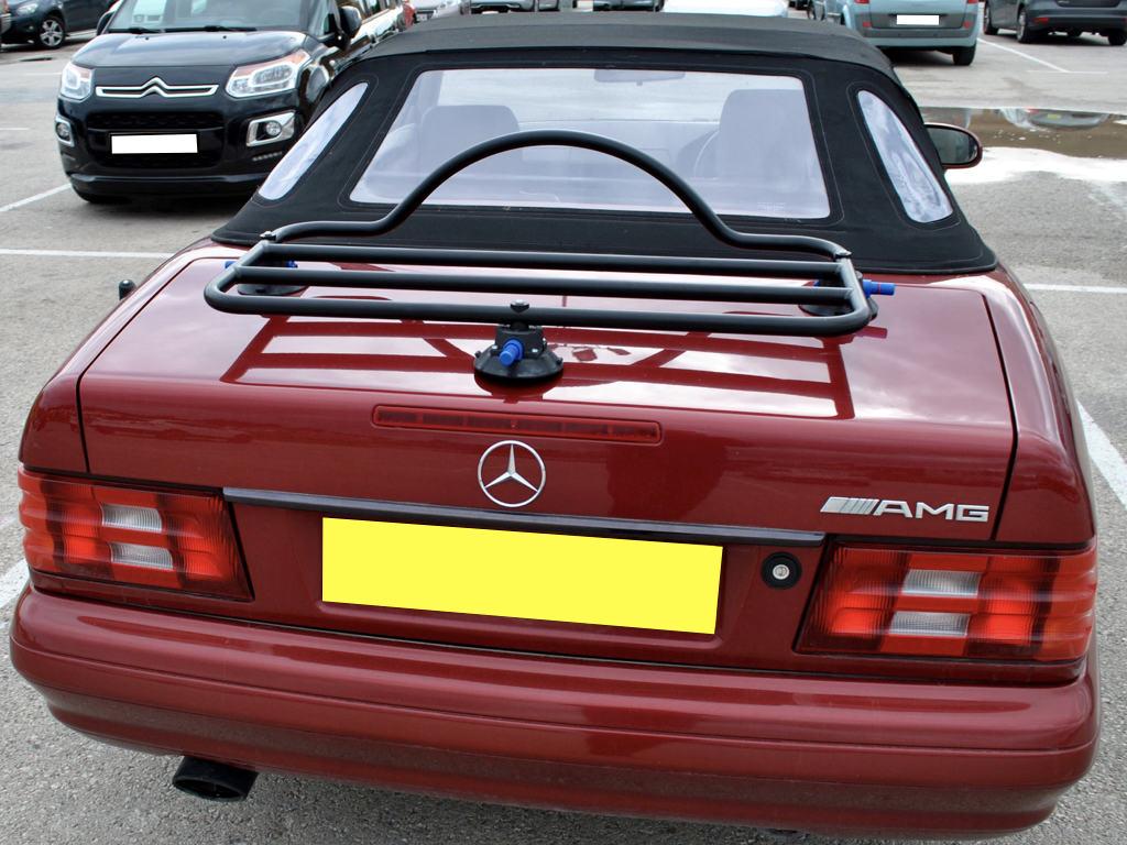 Mercedes SL Trunk Rack Three Options For All SL Models