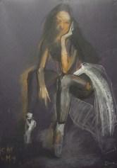 Truro School, Valeria Duca, Dancer 82x57