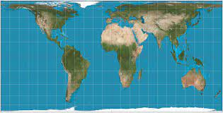 Hobo-Dyer Map Projection