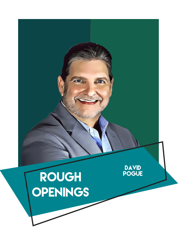 Rough Openings by David Pogue