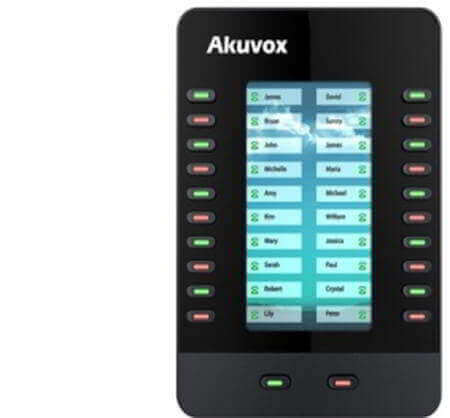 akuvox-ip-phone-em63-expansion-module-for-ip-phones