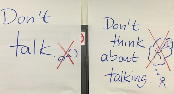 Don't Talk - Don't Think