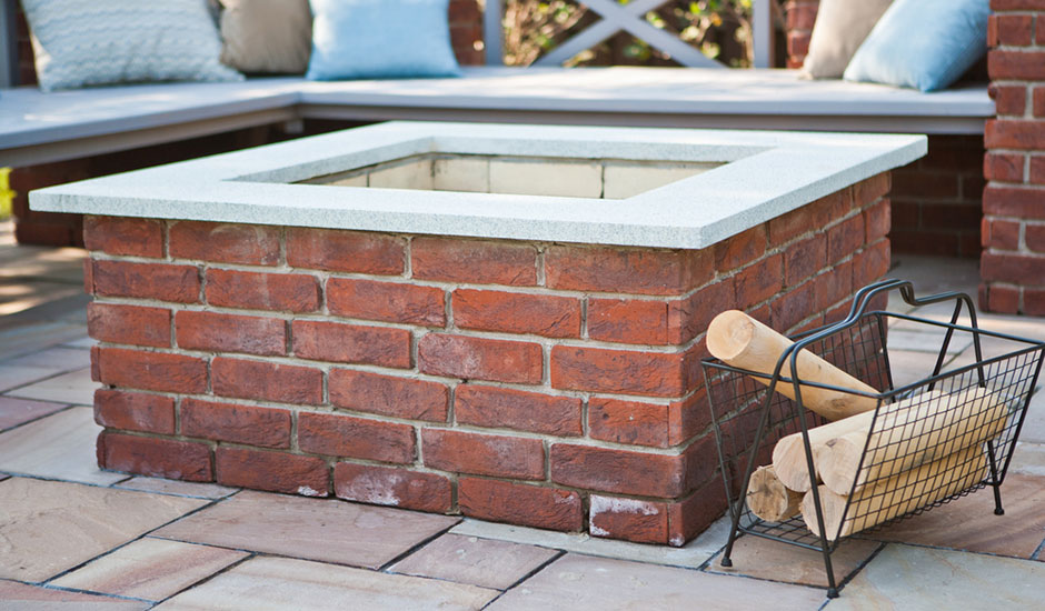 brick backyard fire pit trusted home