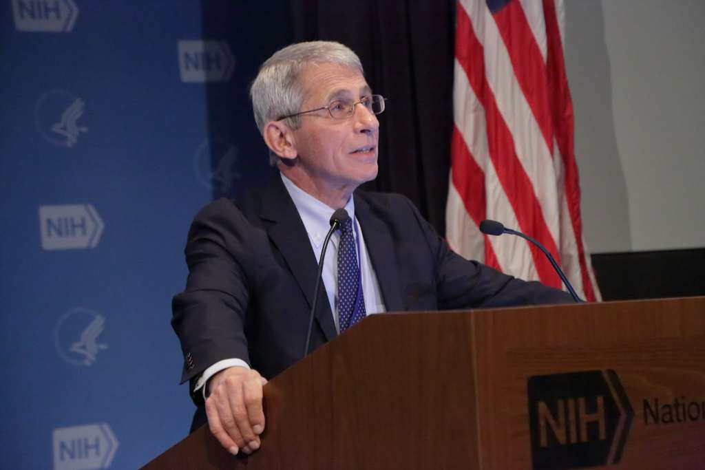 Dr. Anthony Fauci, Director, NIAID; Discussing the Coronavirus Antibodies