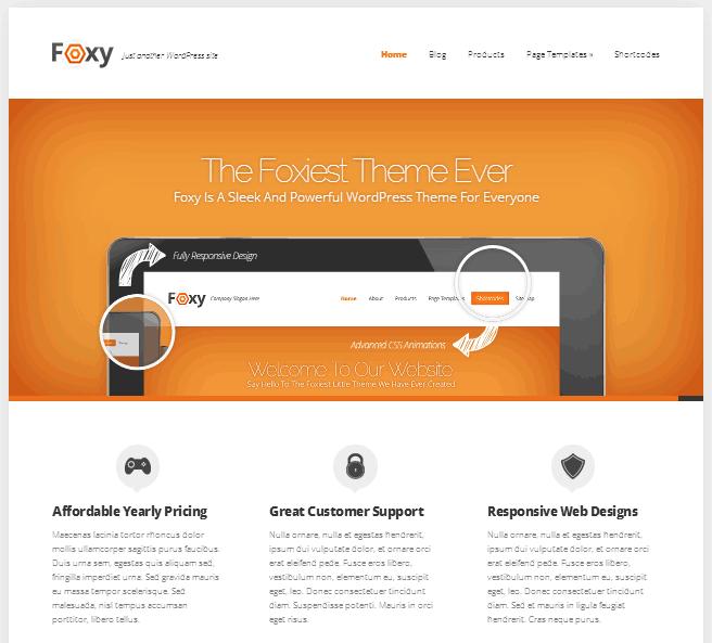 Foxy theme