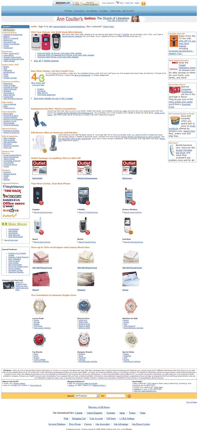 Amazon in 2006