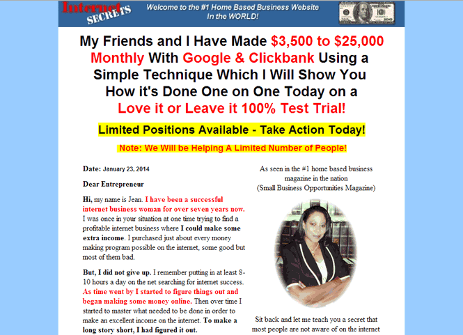 Google Online Money Making Scams