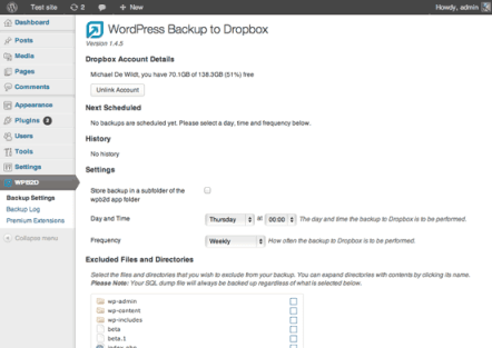 Best WordPress Dropbox plugin