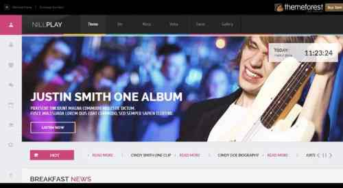 Best WordPress themes for musicians