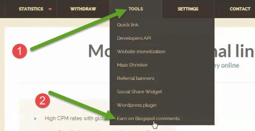 Make money with Blogger