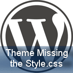 The Theme is Missing the Style.css