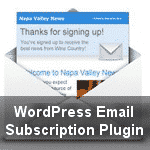 WordPress Plugin for Email Subscription