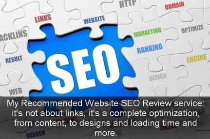 Website SEO Review Service