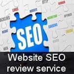 Website SEO review service