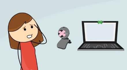 Secure webcam software