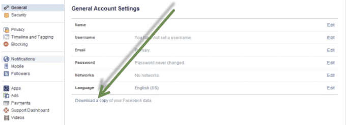 Recover Deleted Facebook Messages