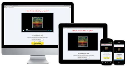 Responsive Sales Page