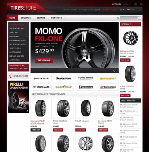 Tires theme