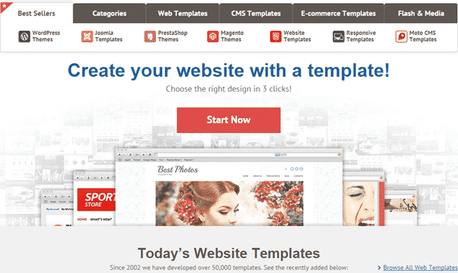 Best Places to Buy Website Templates: Cool Designs in 2019