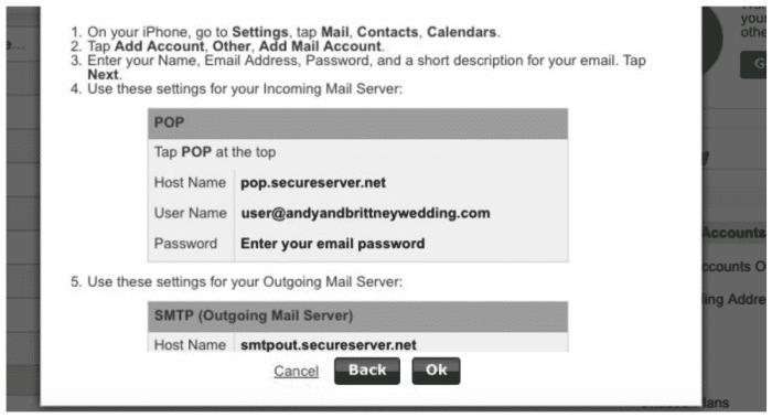 email setup center