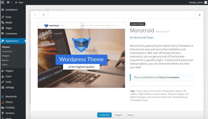 Monstroid WordPress theme review