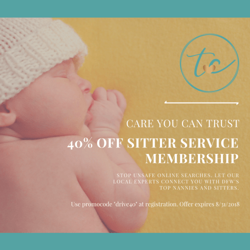 tc nannies and sitter august special sale
