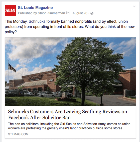 STL Schnucks protests